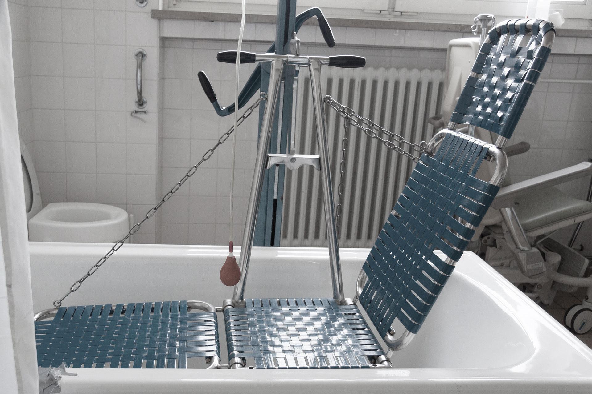 matériel pour le bain